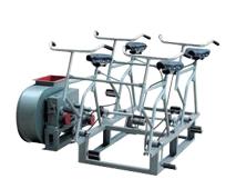 大夏国际采购电动脚踏两用风机